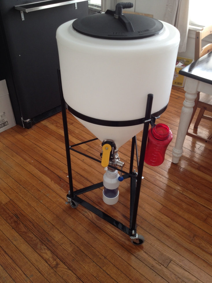 Plastic Conical Fermenter Chaos Brew Club